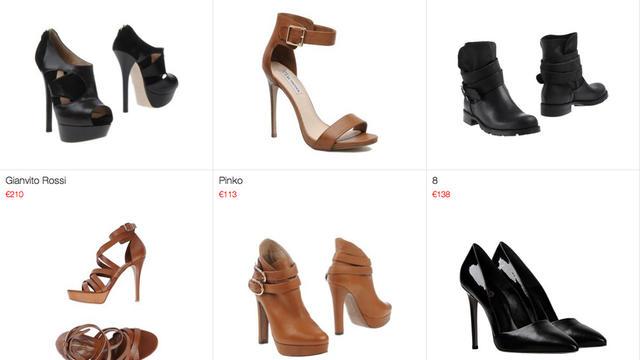 Plus de 50 000 paires de chaussures sont référencées sur Stylect.
