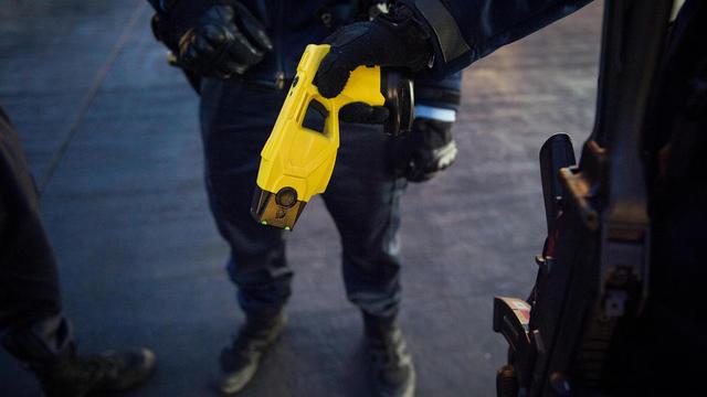 Photo d'illustration d'un pistolet Taser.
