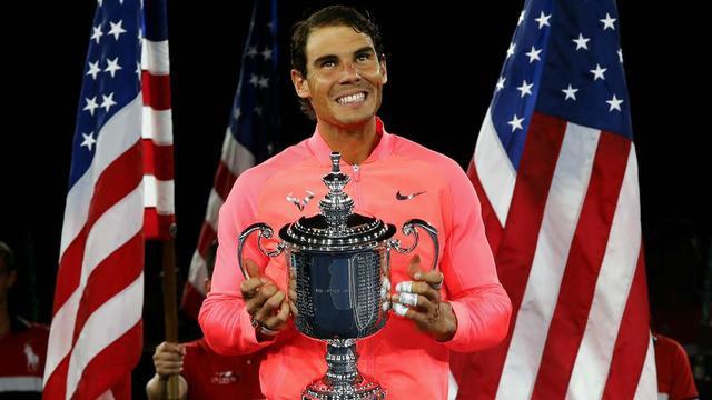 Tenant du titre, Rafael Nadal pourrait empocher 3,3 millions d'euros en cas de nouveau succès à Flushing Meadows.