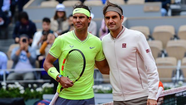 Rafael Nadal et Roger Federer s'étaient affrontés il y a un mois en demi-finale à Roland-Garros.