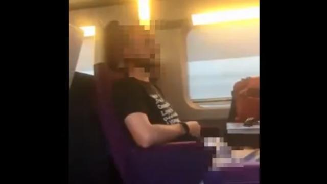 La passagère d'un TGV Paris-Poitiers-La Rochelle a filmé un homme qui se masturbait à côté d'elle.