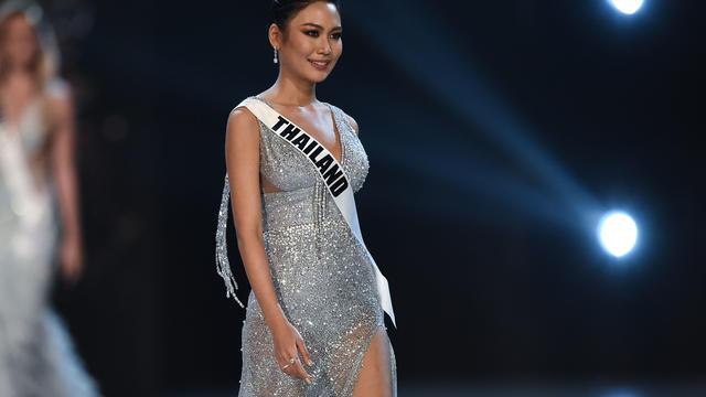 La candidate thaïlandaise au concours Miss Univers.