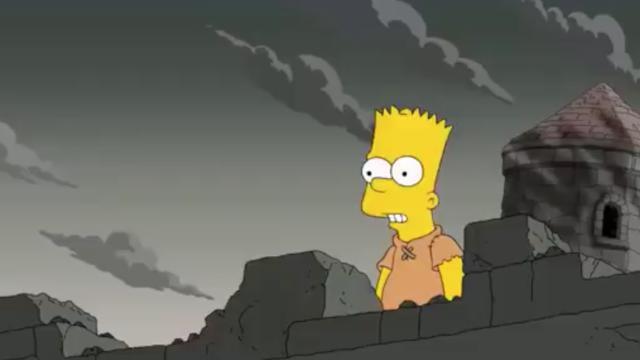 Les Simpsons auraient prédit, dans un de leurs épisodes, la scène culte de l'épisode 5 de Game of Thrones.