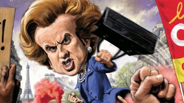 Emmanuel Macron comparé à Margaret Thatcher en une de The Week, en avril 2018.