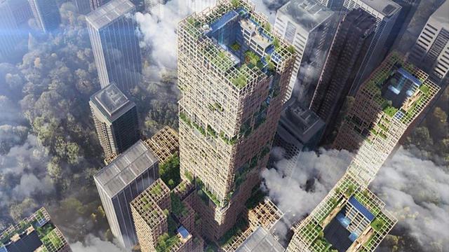Le gratte-ciel devrait abriter des logements, un hôtel, des bureaux ou encore des commerces sur soixante-dix étages.