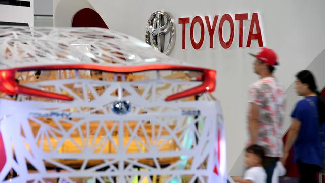 Le groupe japonais espère vendre 5,5 millions de voitures électriques par an en 2030.