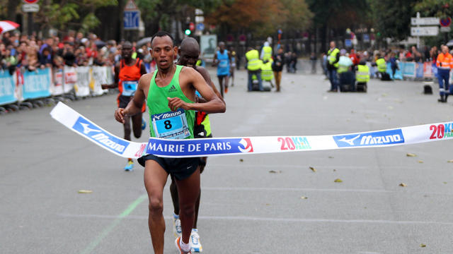Le vainqueur de cette 36e édition,  l'Ethiopien Muhajr Haredin Sraj.