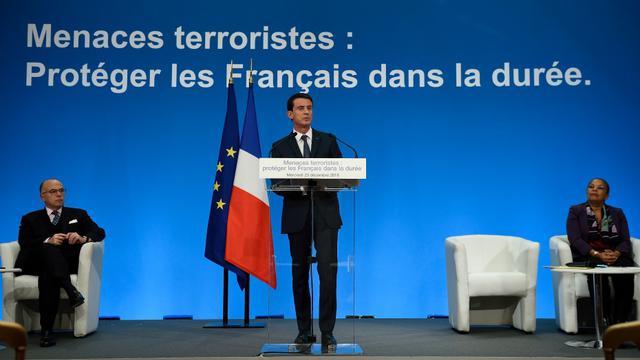 Manuel Valls présente ses nouvelles propositions pour lutter contre le terrorisme.