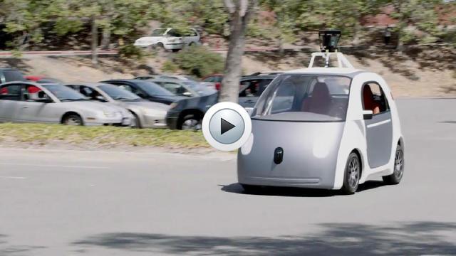 La voiture de Google ne possède ni volant, ni pédales, ni levier de vitesse.