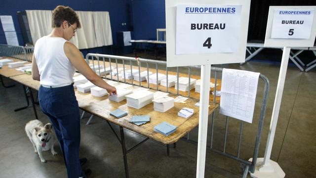 La République en Marche (24%) et le Rassemblement national (20%) sont largement en tête des intentions de vote aux élections européennes (photo d'illustration).