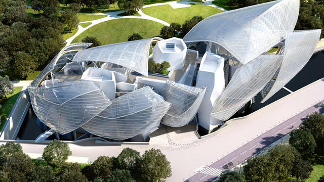 La Fondation Louis-Vuitton pour l'art contemporain ouvrira officiellement ses portes au public lundi.