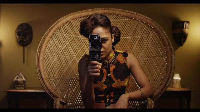 """Tessa Thompson dans le film """"Dear White People"""" de Justin Simien."""