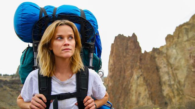 L'actrice Reese Witherspoon s'est prêtée au jeu de la réalité virtuelle pour une séquence tirée du film Wild.