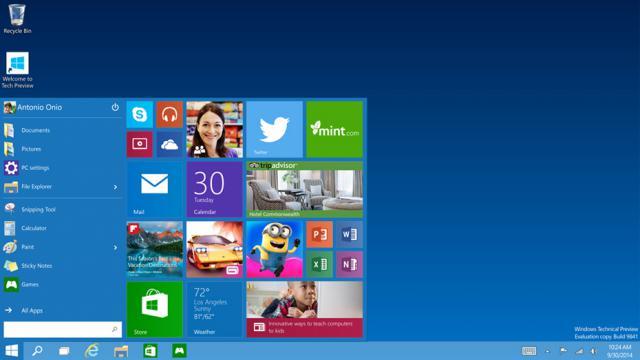 """Le menu """"démrarrer"""" de Windows 10 est entièrement personnalisable."""