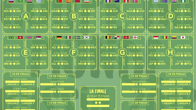 Coupe Du Monde De Football Calendrier.Telechargez Le Calendrier De La Coupe Du Monde 2018 En Pdf