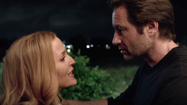 David Duchovny et Gillian Anderson alias Mulder et Scully ont pris de l'âge et de l'expérience