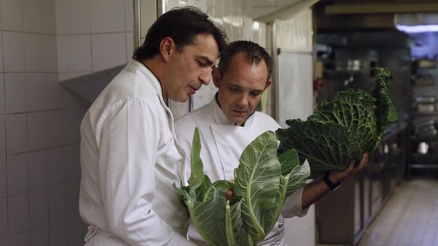 """Yannick Alléno avait déjà reçu le titre de """"meilleur cuisinier de l'année"""", décerné par le Gault & Millau"""