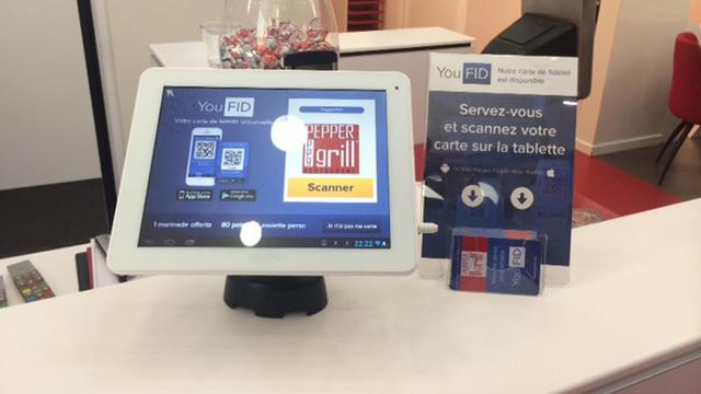 L'application Youfid permet aux commerçant de proposer une carte de fidélité virtuelle à leur clients.