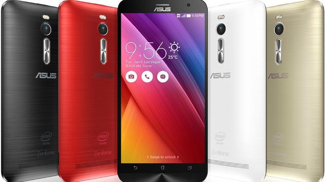 Les smartphones ZE551 d'Asus seront commercialisés en mai.