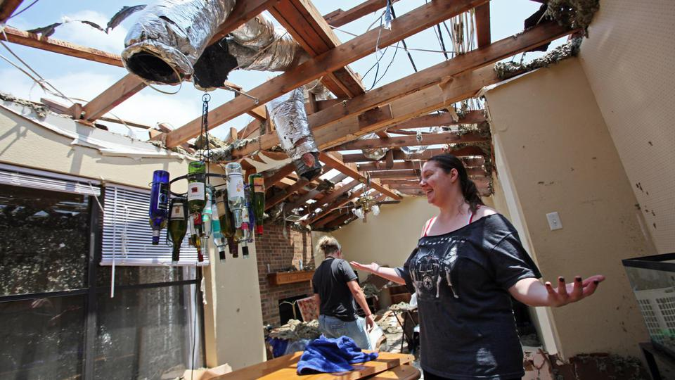 La ville de Moore, où la tornade a fait le plus de dégâts, avait déjà été touchée par une catastrophe de ce type en 1999.