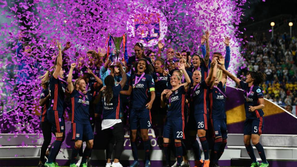 L'OL remporte sa troisième Ligue des Champions de suite face à Wolsburg (4-1).