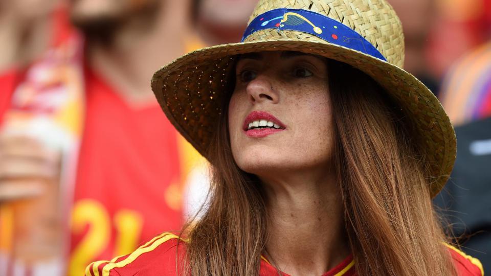 Une supportrice espagnole lors du match Espagne-République Tchèque, le 13 juin 2016, à Toulouse.
