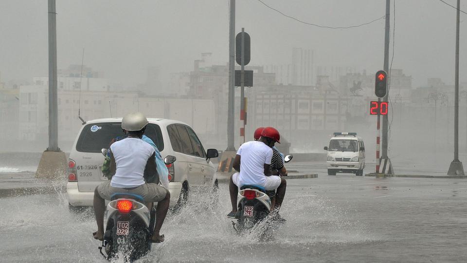 Tout comme en Haïti la tempête a provoqué des inondations après son passage.