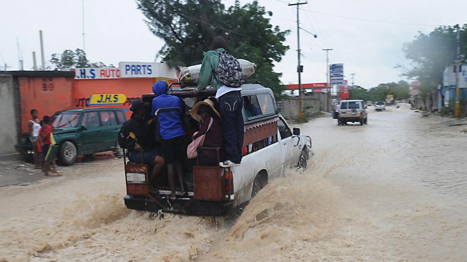 Des régions ont été inondées.