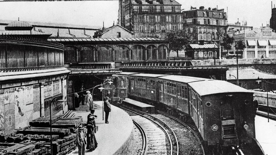 L'histoire haute en couleur du métro parisien   www.cnews.fr
