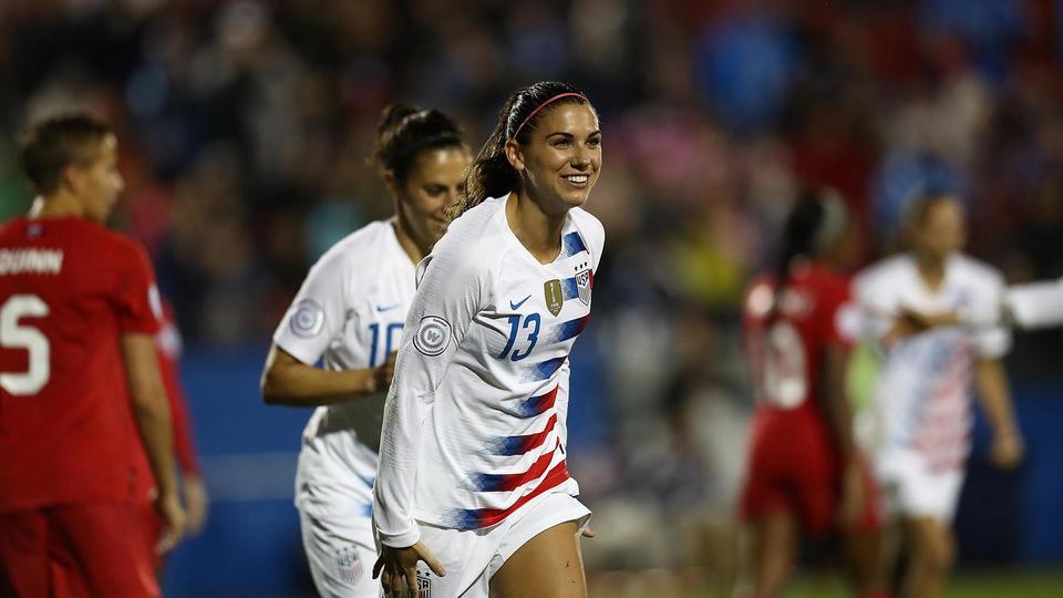 Alex Morgan (Etats-Unis) peut être considérée comme la première star planétaire du football féminin.