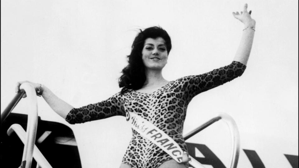 Christiane Sibellin, Miss France 1965.