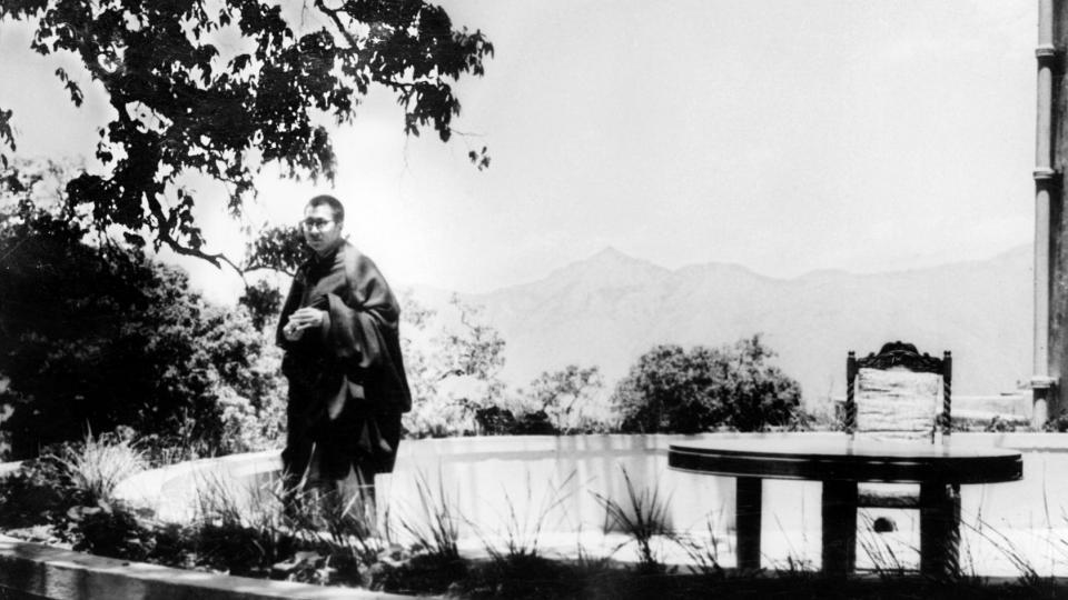 Le dalaï-lama en 1959