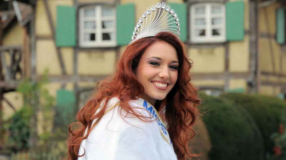 Delphine Wespiser, Miss France 2012.