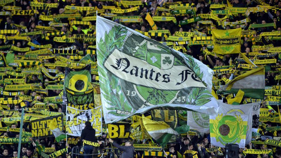 Des supporters du FC Nantes