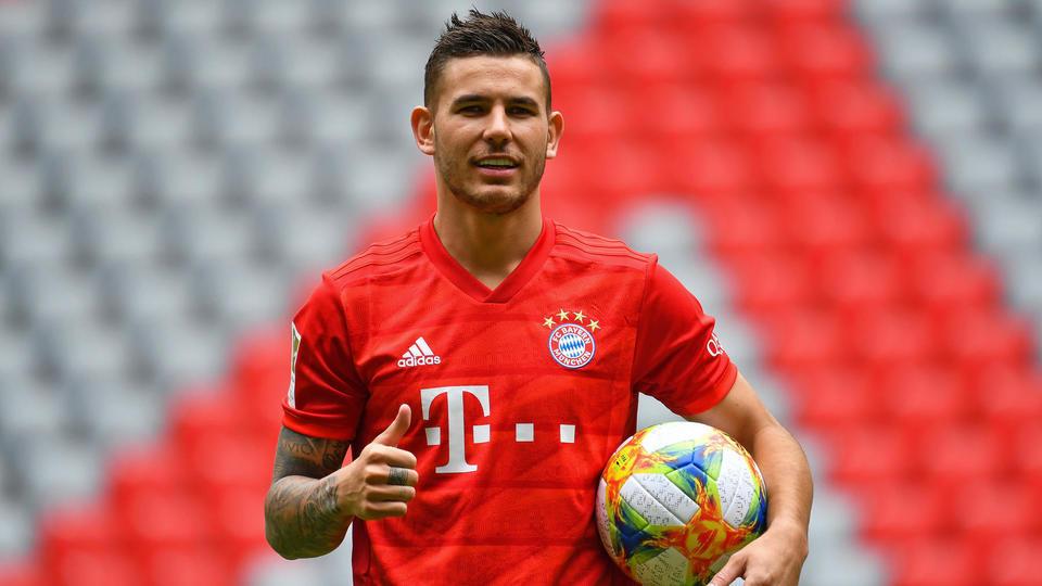 Lucas Hernandez de l'Atlético Madrid au Bayern Munich pour 80 millions d'euros à l'été 2019.