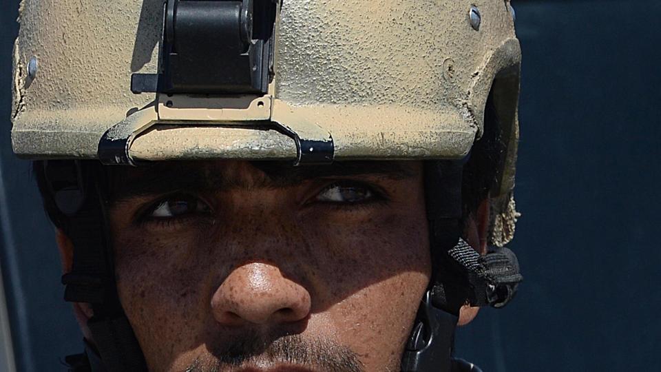 Un membre des forces spéciales afghanes à Kaboul en 2014.