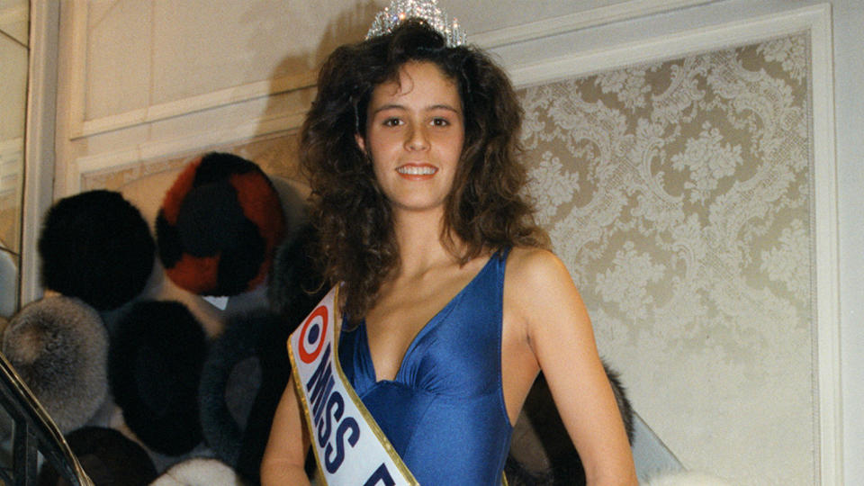 Gaëlle Voiry, Miss France 1990.
