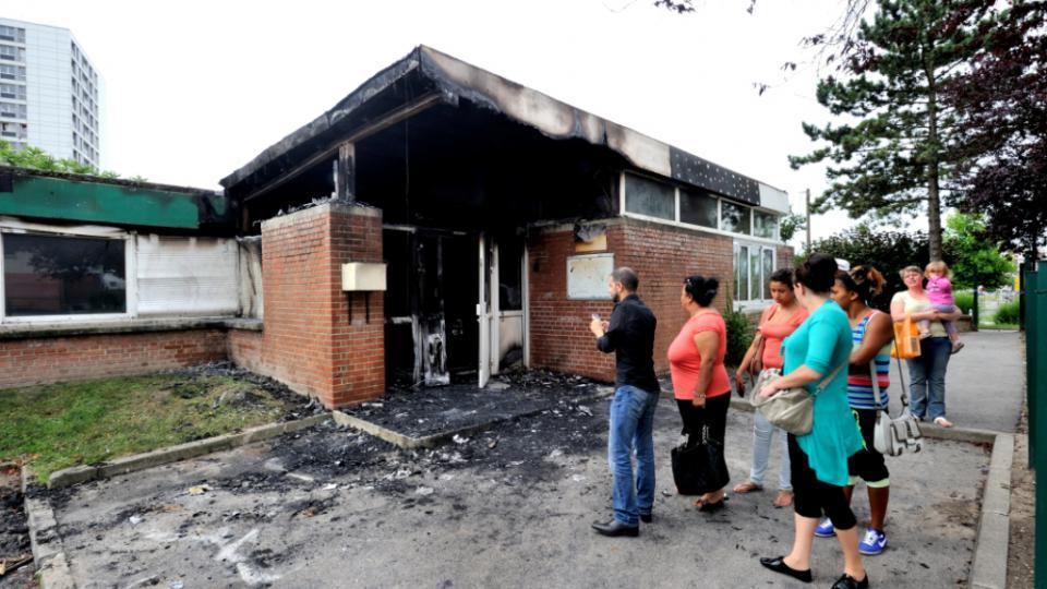 Destruction école Amiens
