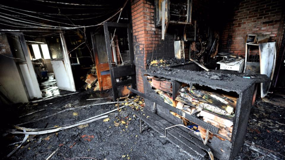 Incendie école Amiens