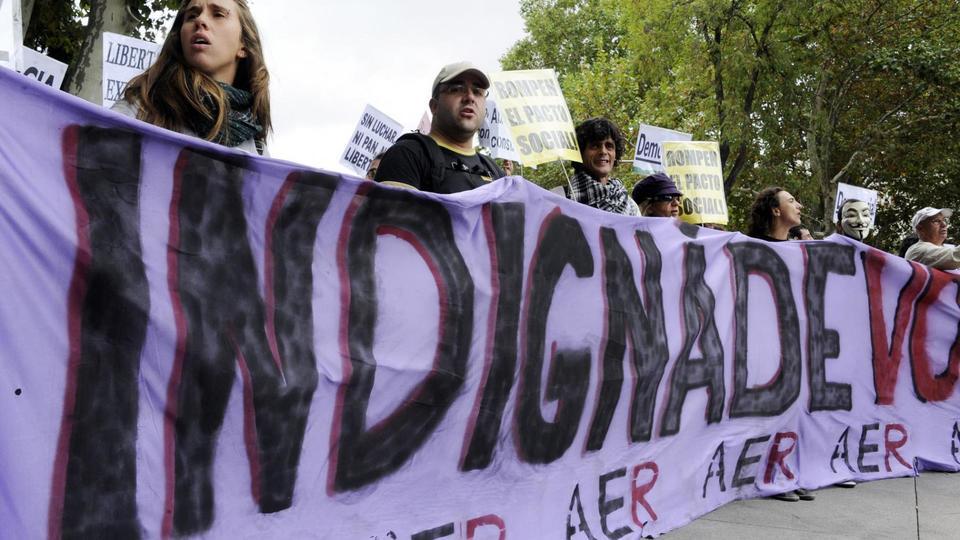 15 octobre 2011 : Journée mondiale des Indignés.
