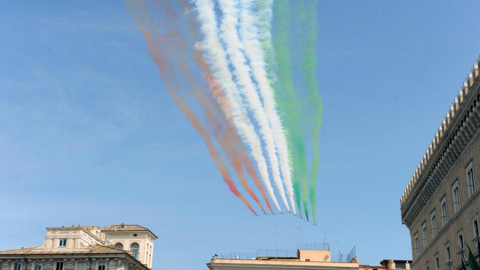 Célébration de la fête nationale italienne