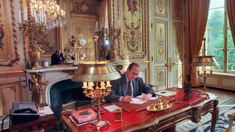 Comment chaque pr sident a chang la d coration de l - Bureau de change place d italie ...