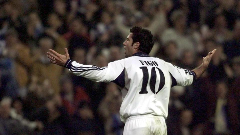 Le footballeur Luis Figo