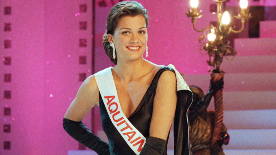 Mélody Vilbert, Miss France 1995.