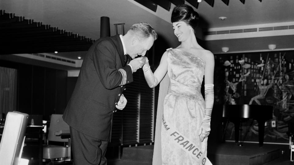 Monique Lemaire, Miss France 1962.