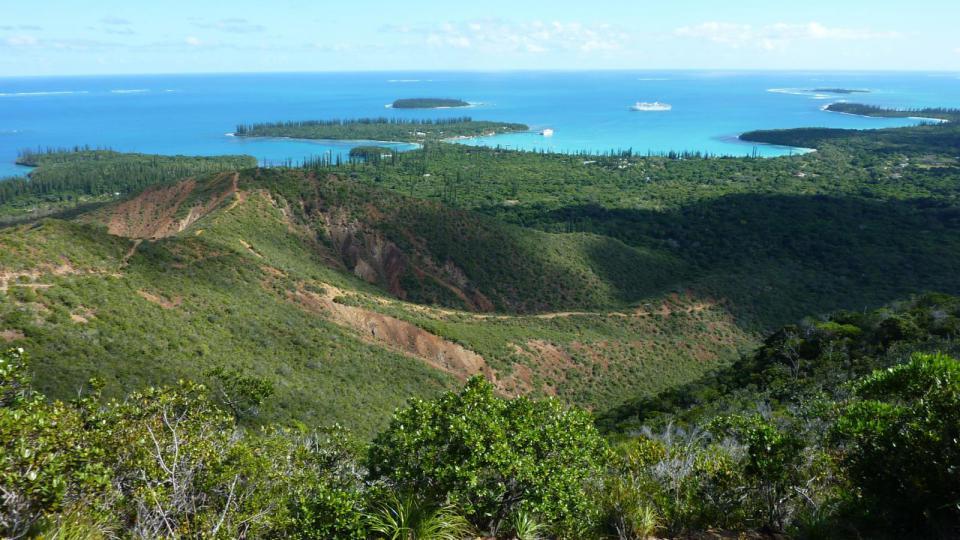 Paysage de Nouvelle-Calédonie