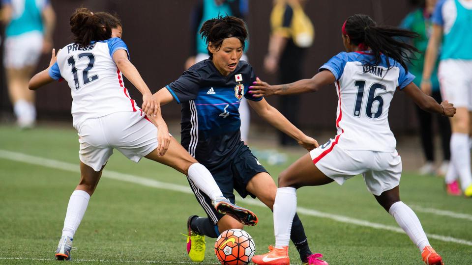 Saki Kumagai (Japon). A seulement 20 ans, elle avait marqué le tir au but qui avait permis à sa sélection de remporter la Coupe du Monde 2011.