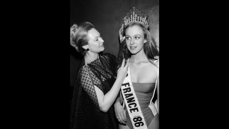 Valérie Pascal, Miss France 1986.