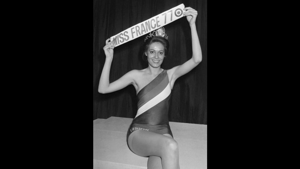 Véronique Fagot, Miss France 1977.