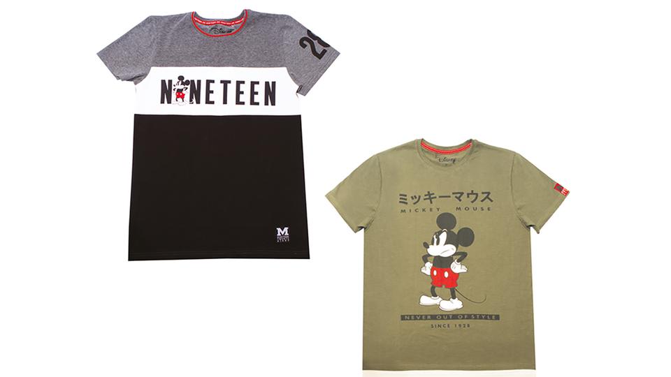 78f2f49daf [La Halle X Mickey ] Avec ses deux t-shirts originaux, La Halle choisit de  mettre en avant un Mickey bougon, parce qu'un papy qui ne râle pas, ...